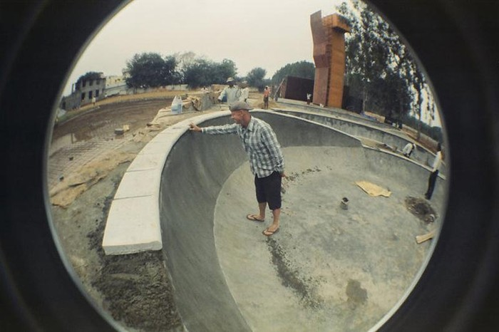 Nick bringing the Play Arena Skate Park To Life