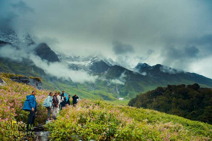 A group trip to the Valley of Flowers, Uttarakhand (2011).