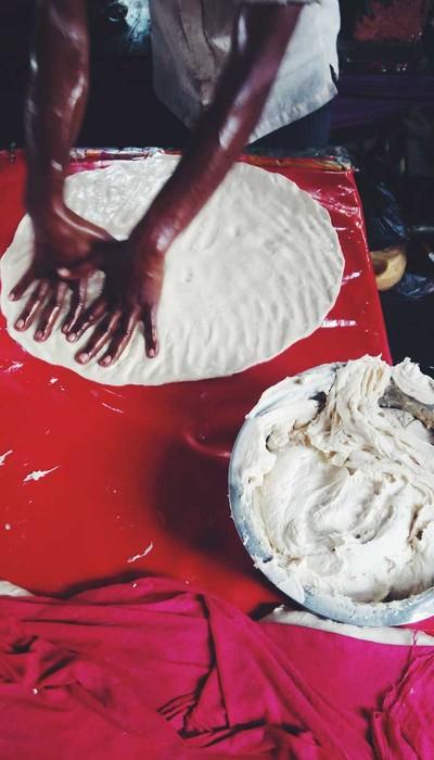 Make me a roti.