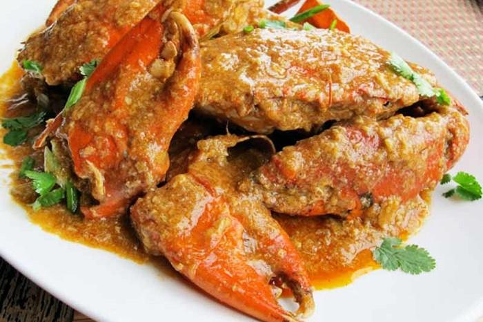 Spicy Crab Curry At Starlight Bar & Restaurant, Anjuna