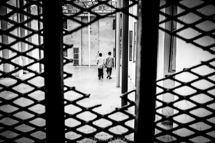 A view from the outside at Sewa Kutir, a Juvenile Justice remand home in Delhi. Image Credit - Shuchi Kapoor.