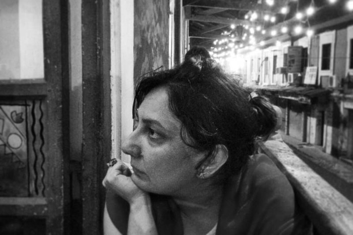 Gauri Vij is the project manager for Sensorium. She brings her 20 years of magazine experience, including almost two and a half years of being the editor of Time Out Mumbai, into the festival. It is difficult to imagine the festival without her. Here we see her trying to decide what to order at a lovely restaurant in Panjim called Vinete.