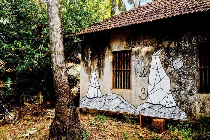 At Arambol, Goa.