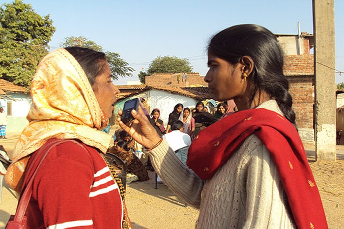 Jharkhan Mobile Vaani facilitates crowdsourced audio-journalism. Source: graamvaani.org