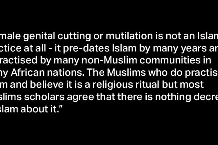 Female Genital Mutilation, Islam, India