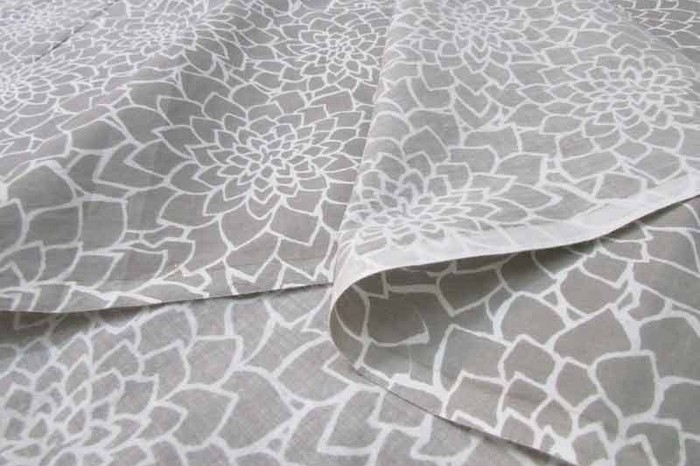 beautiful printed fabric.