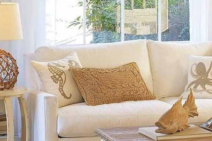 Just one of their throw pillows can transform the look of an entire room