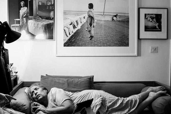 Mona and myself. 2013. Photo © Dayanita Singh