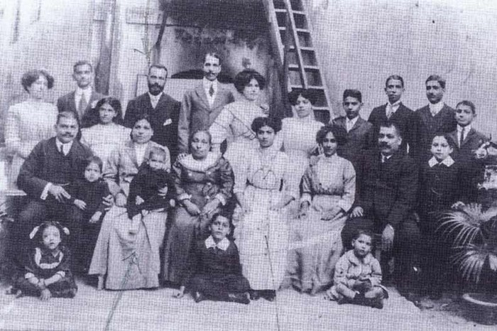 Mingail Family, a Jewish family in Calcutta, Image Source: Jewishcalcutta.in.