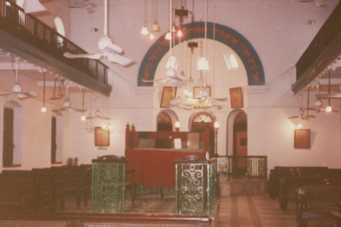 Neve Shalom Synagogue. Image Source: Jewishcalcutta.in.