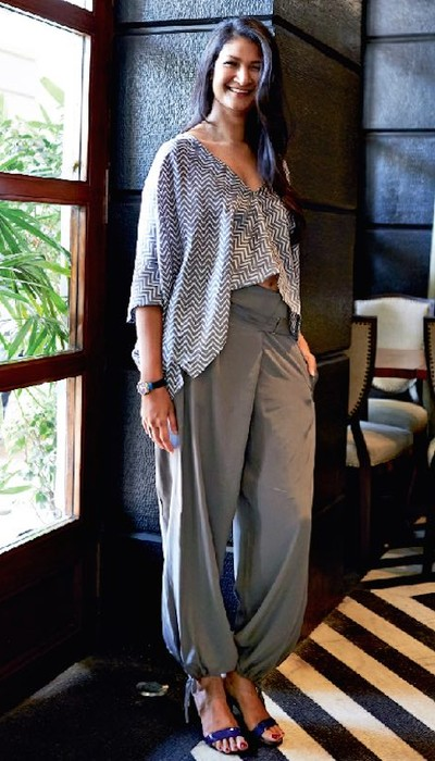 Gauri Devidayal at her restaurant, The Table