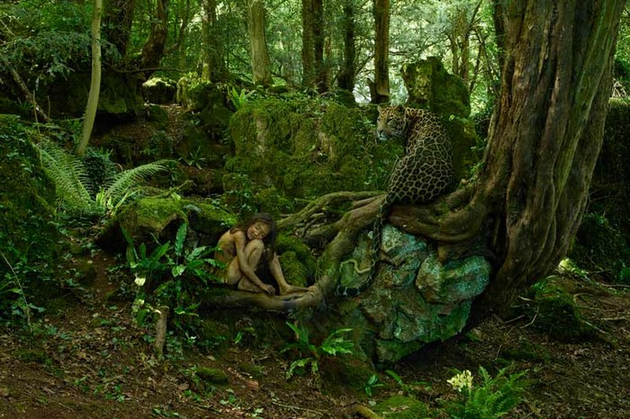 The Leopard Boy, photographed by Julia Fullerton-Batten