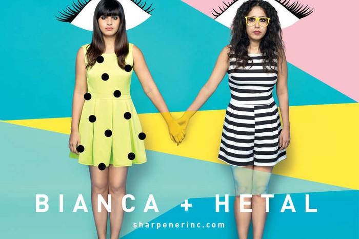 Hetal Ajmera and Bianca D'sa