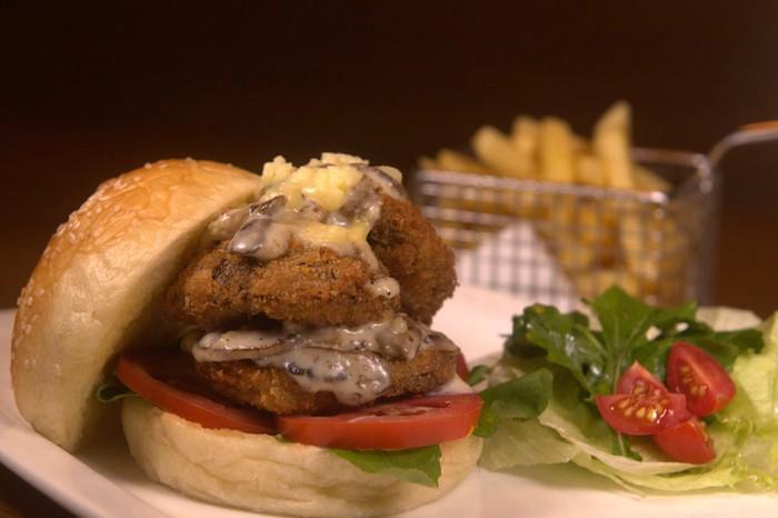 Shroom Burger at 212