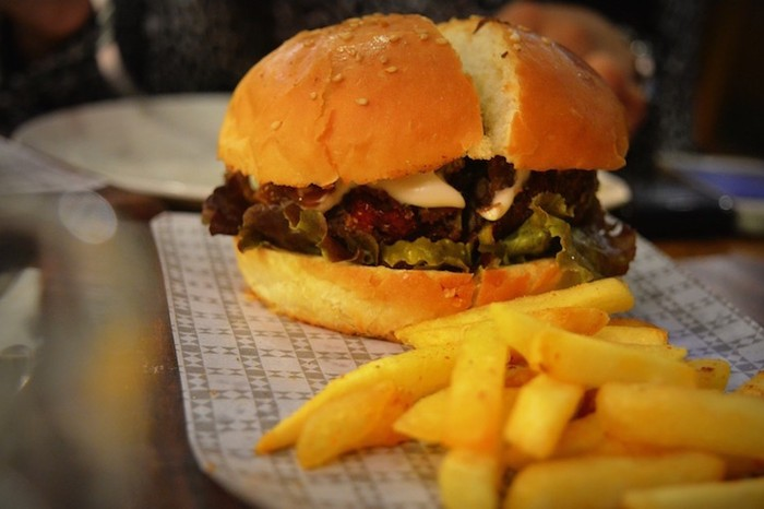 The Black Bean Burger at The Nutcracker. Image source: CT Photography