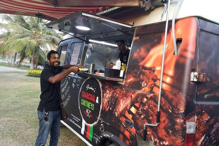 Bengalurus 15 best food trucks serve up delicious meals on wheels francos charcoal and chutneys forumfinder Choice Image