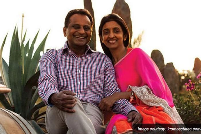 Krishna & Uma, source: Krsmaestates via Rediff