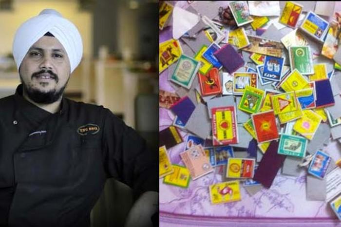 Sarabjeet & his matchbox collection