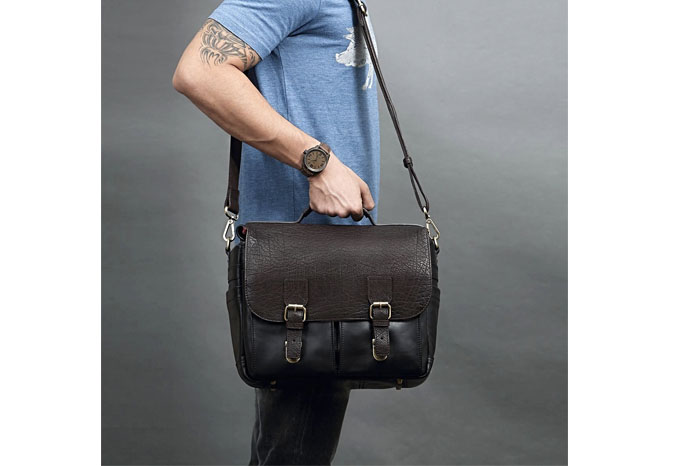 Vinson all-leather bag