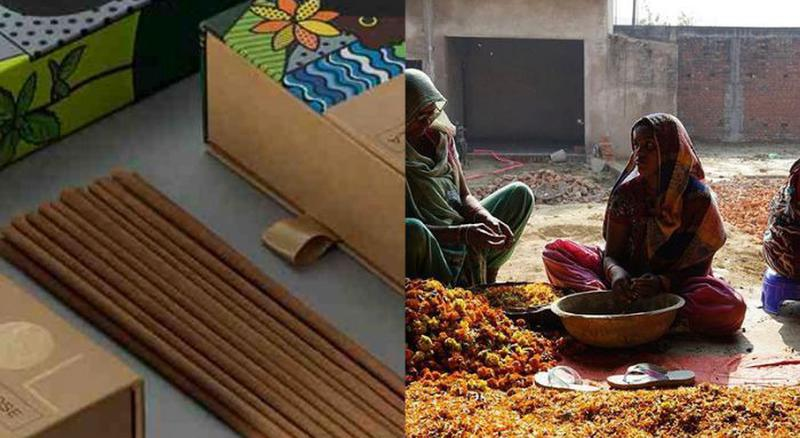 PHOOL Is Upcycling Waste Flowers From Temples Into Incense Sticks - Homegrown
