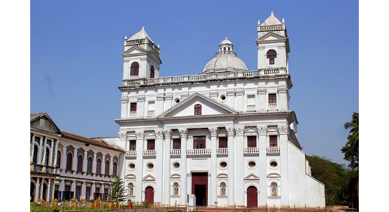 St. Cajetan's Church. Image credit: Wikipedia Commons.