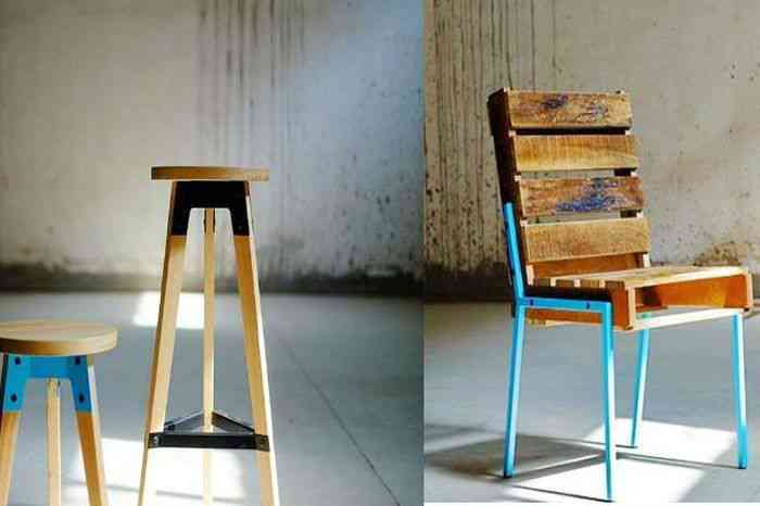 Minimalistic wooden furniture from Spin Furniture