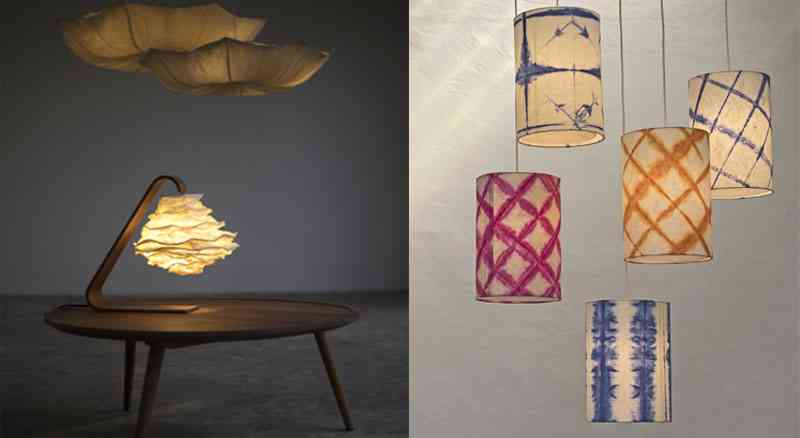 Oorja natural paper made lights