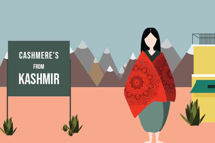 Cahsmere/Kashmir English Words With Indian Origins