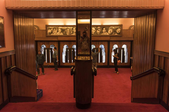 Inside Liberty Cinema