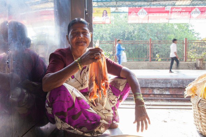 Bombay Duck in the train. Photographed by Rashi Arora for Homegrown