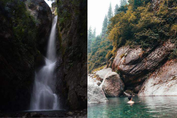 Tatwani Natural Hot Spring and Bangoru waterfall