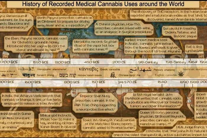 Cannabis Uses In History