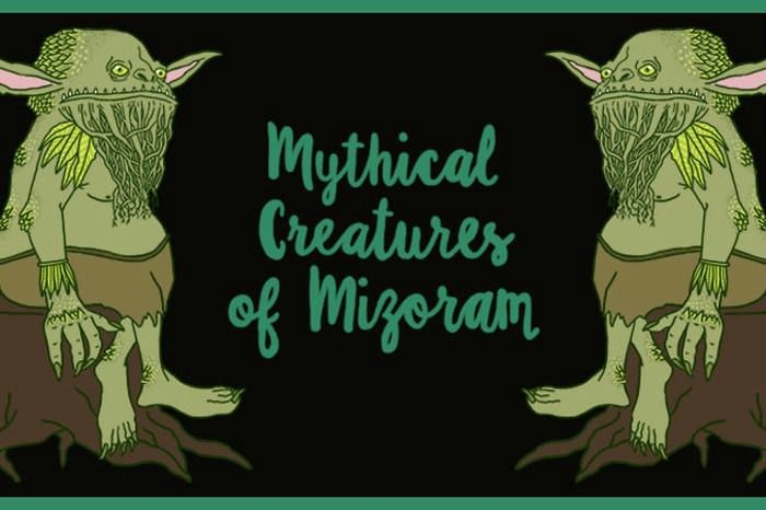 We Illustrated 10 Of Mizoram's Mythical Creatures & Their