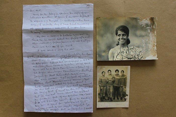 Deepali Sinha's Handwritten responses and photographs
