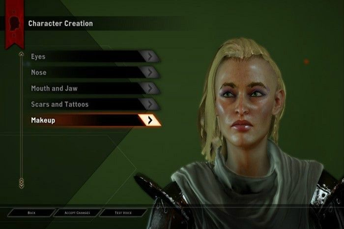 Dragon Age: Inquisition Character Creation, Electronic Arts (2014)