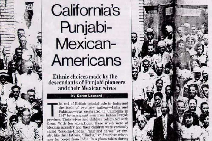 Who Were The Punjabi-Mexicans Of California & Why Are They Fading ...