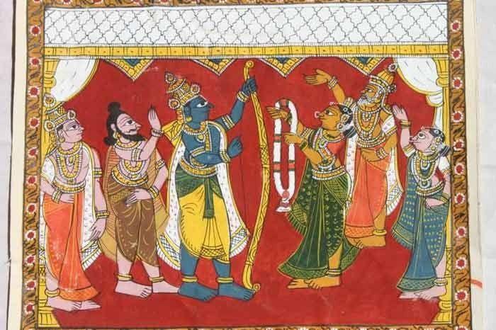 Chitrakathi paintings. Image source - 97artandideas