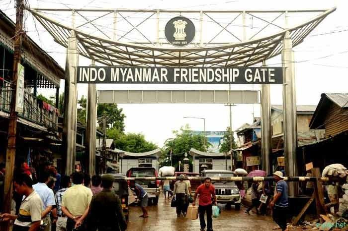 The Indo-Myanmar friendship gate. Image Source: e-paolive.net
