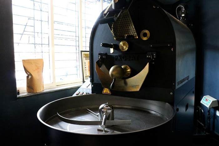 Koinonia's Coffee Roasting Machine