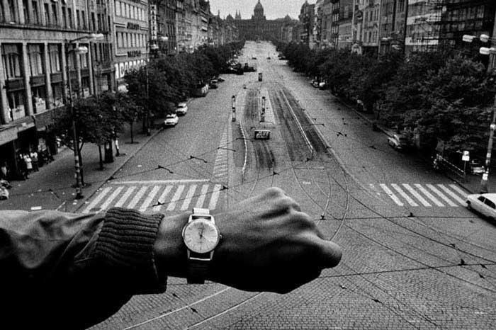 Photographed by Josef Koudelka