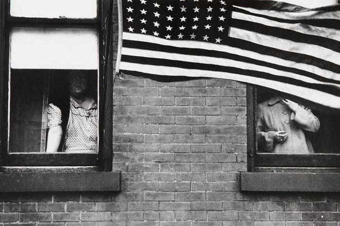 Photographed by Robert Frank