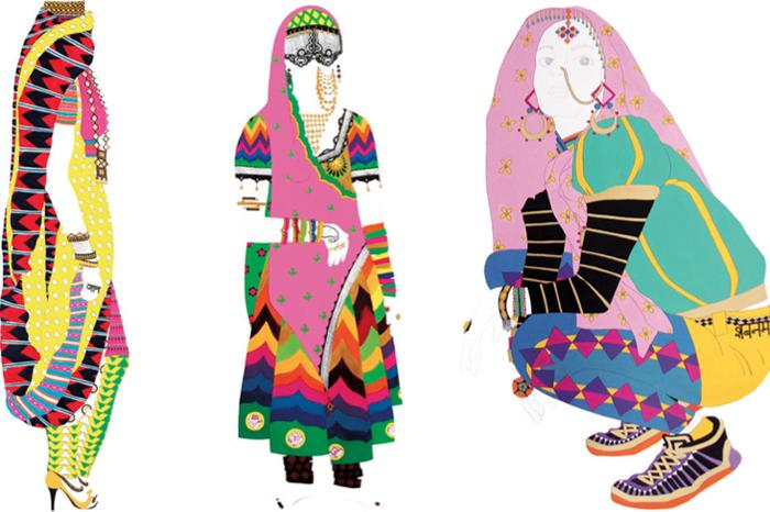 Art work by Meera Sethi, image source: Design Wali