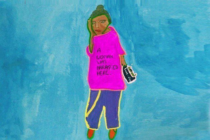 Original artwork by Ayesha at Dharavi Art Room; Source - NorBlack NorWhite