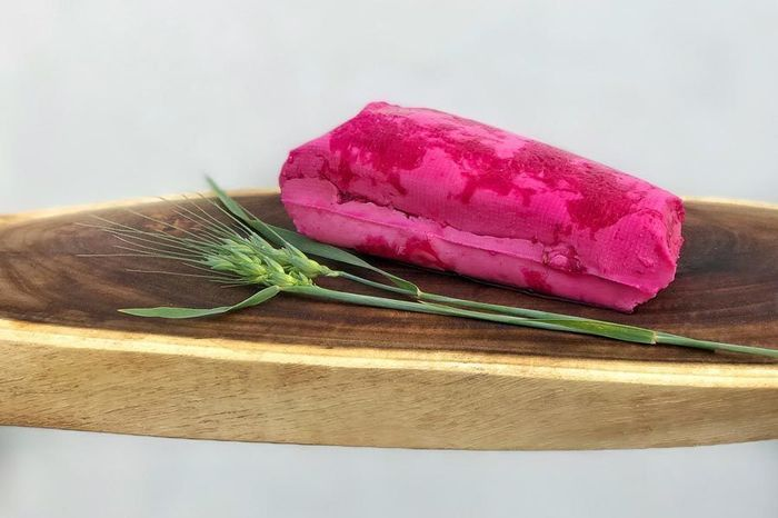 Ruby Feta (beetroot blushed and infused with roast garlic)