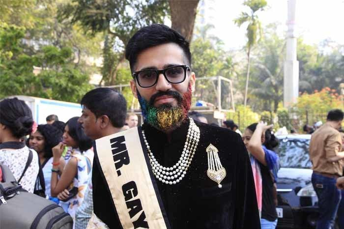 Ashish Chopra, 1st Runner Up of Mr. Gay World India Pageant. Photograph by: Rashi Arora/Homegrown