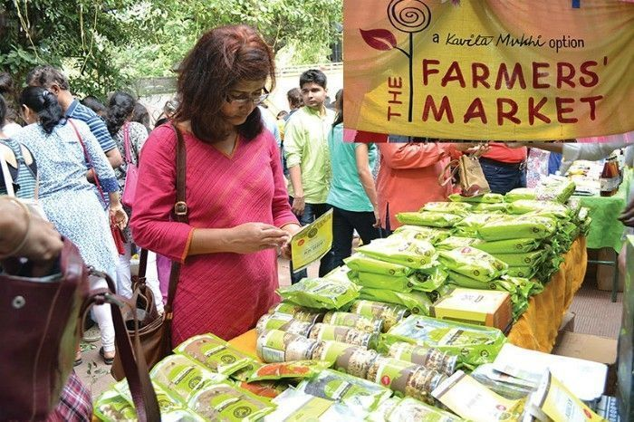 Bandra Farmers' Market. Image Source: Live Local Mag