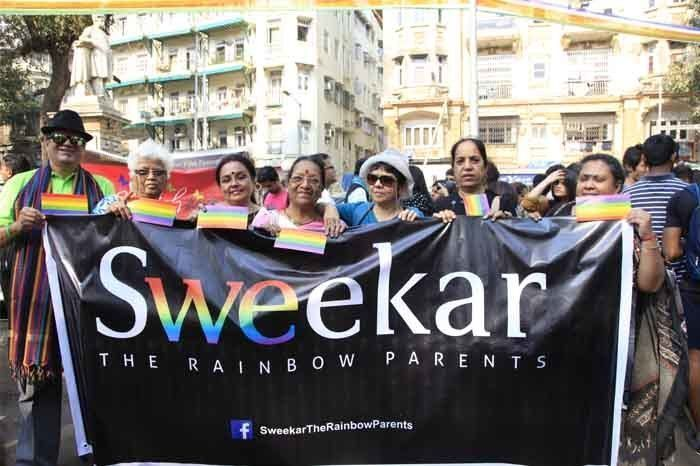 The pride march also saw the parent's group 'Sweekar' come out in support of their children. Photograph by: Rashi Arora/Homegrown