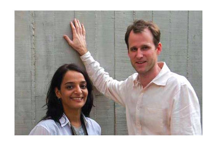Shefali Balwani and Robert Verrijt; image source - Home Review