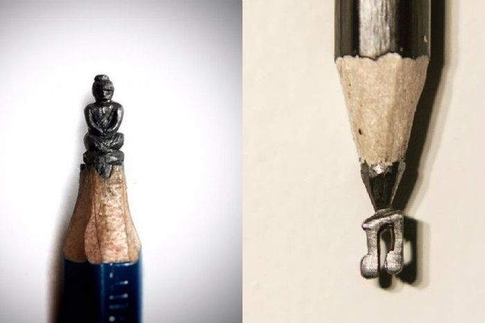 The indian artist thats making incredibly intricate pencil carvings