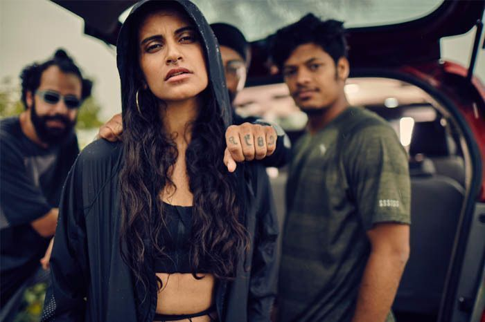 A still from our Puma #RunTheStreets Campaign Video [Directed by Aakash Bhatia]